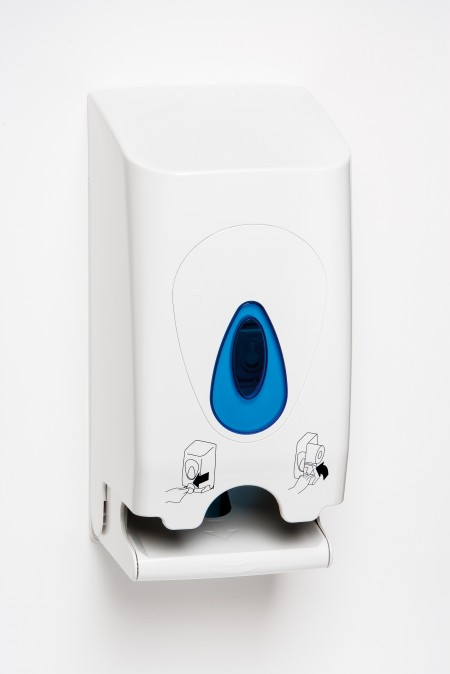 Twin toilet roll dispenser