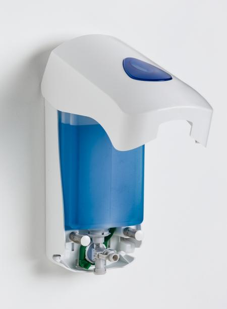 Dispenser di sapone MultiFlex con coperchio Modular