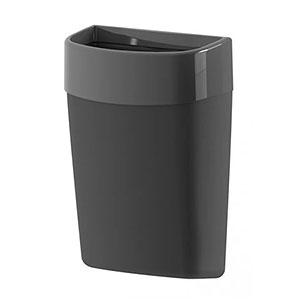Myriad black waste bin